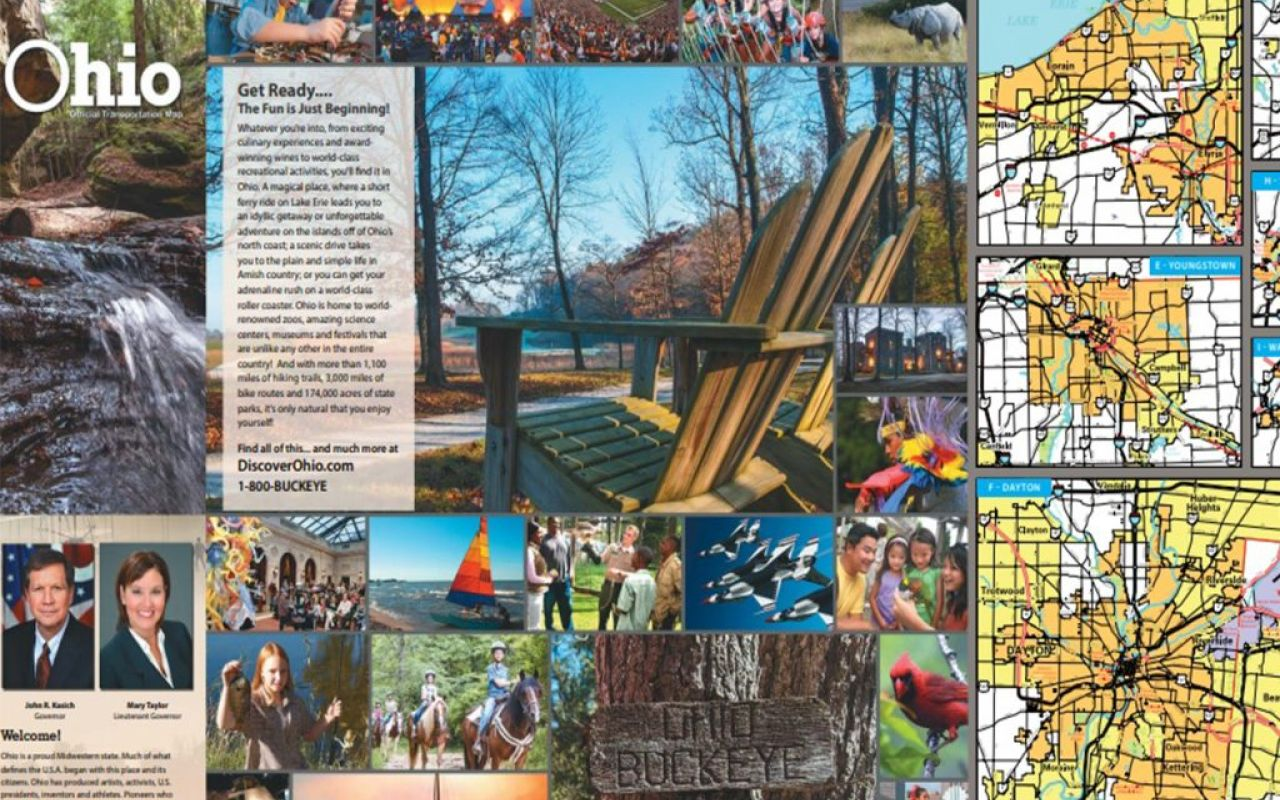 Mapmaker brings creativity, whimsy to Ohio road maps - QFM96